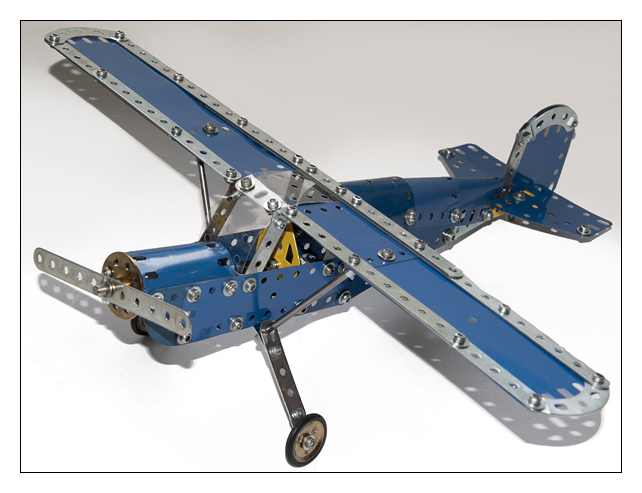 meccano avion d'observation