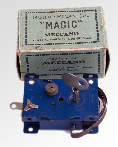 meccano CLOCKWORK MAGIC MOTOR